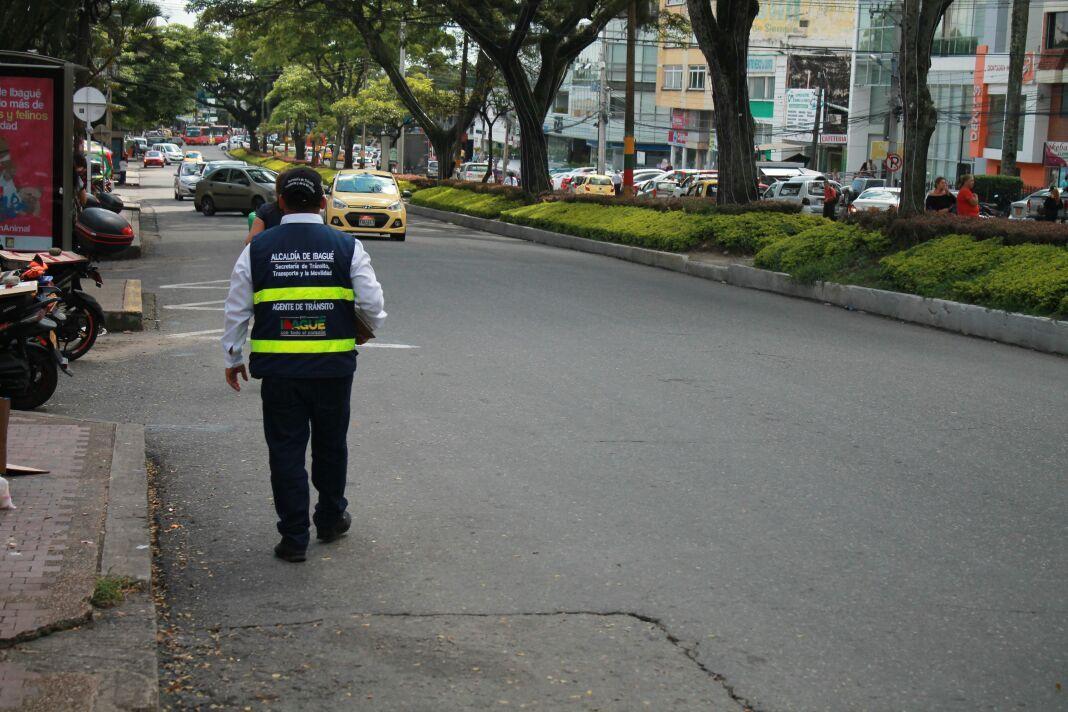 Agentes de Tránsito acompañarán movilizaciones en Ibagué