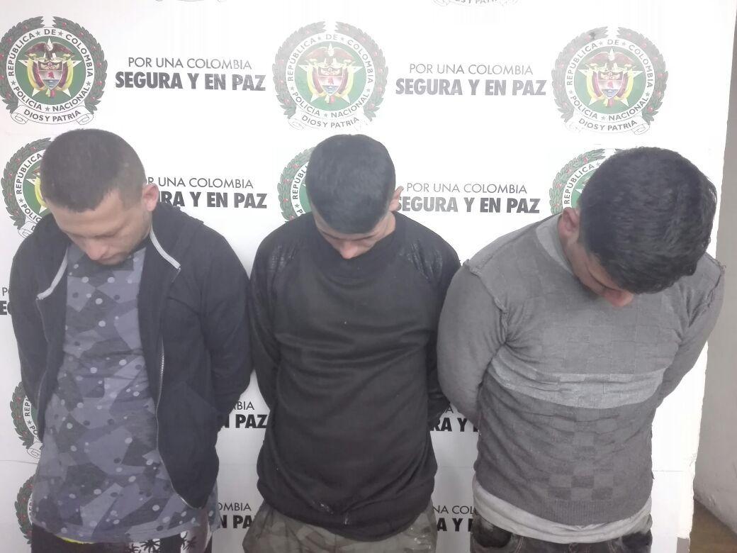 Banda de Bogotá venía a robar los computadores de los carros en Ibagué