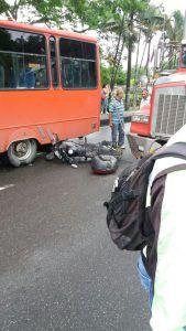 Mañana 'estrellada' en las calles de Ibagué
