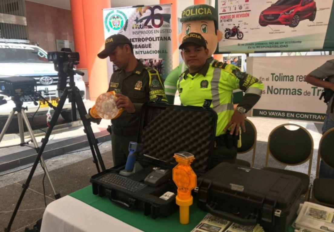 Gobernación entregó elementos de última tecnología para mejorar seguridad en el Tolima