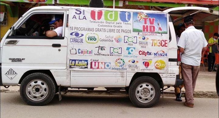 Denuncian presunta estafa de vendedores de antenas TDT en Ibagué