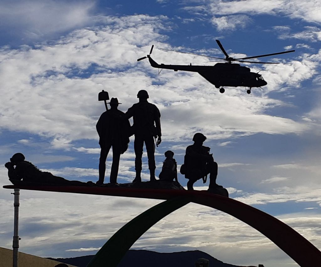 Este martes entregan monumento a los 'Héroes de Sumapaz', en la vía entre Bogotá y Melgar