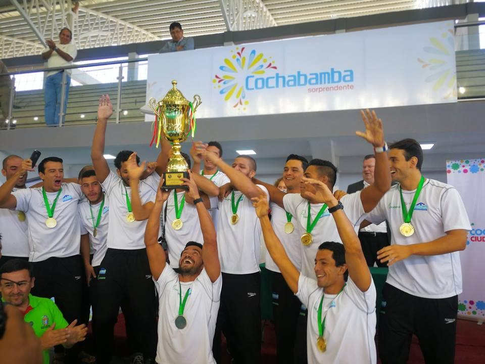 Tolimenses campeones con selección de polo acuático clasificaron a la Copa Mundo de Berlín