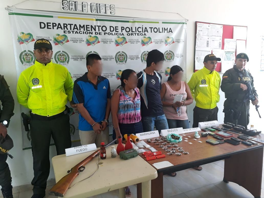Capturaron a 'la reina de la coca' en Ortega