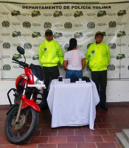 A la cárcel mujer que transportaba 1.500 dosis de cocaína en una motocicleta en Lérida