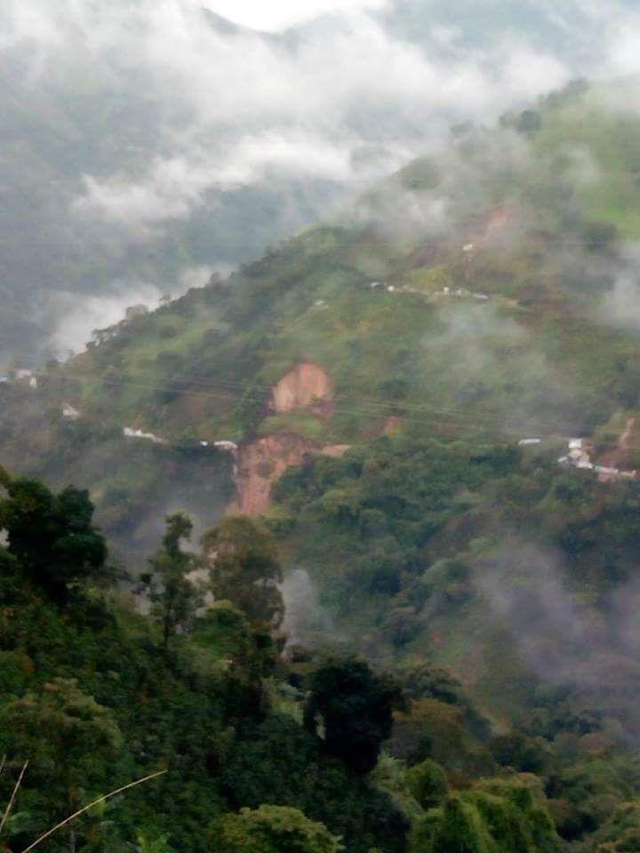 Vivienda fue arrastrada por un deslizamiento de tierra en Anzoátegui