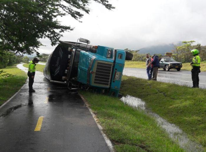 Disminuyeron los accidentes de vehículos de carga en el País