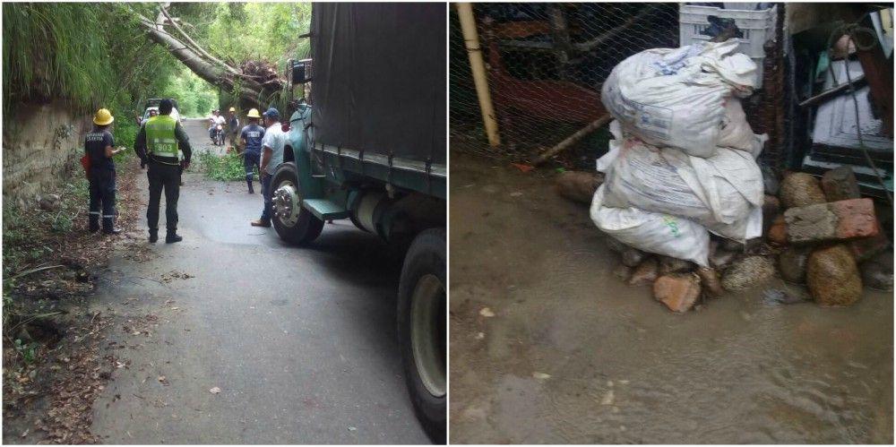 Fuertes lluvias provocaron emergencias en varios sectores de Ibagué y el Tolima