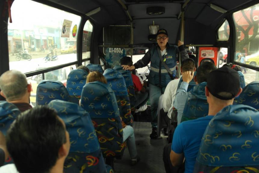 Más de 150 conductores de buseta han sido sancionados por dejar y recoger pasajeros en sitios prohibidos
