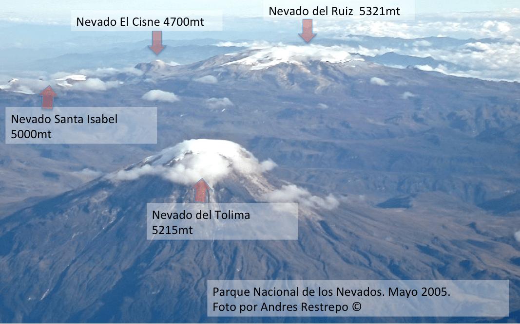 Expectativa por rescate de montañistas perdidos en el Nevado del Tolima