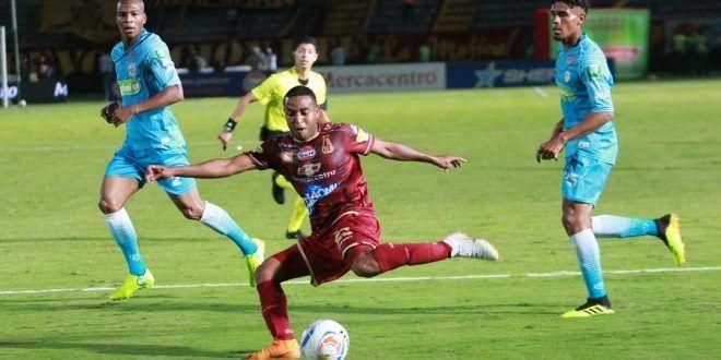 Deportes Tolima empató en el último suspiro 2-2 con Jaguares: 'Del ahogado el sombrero'