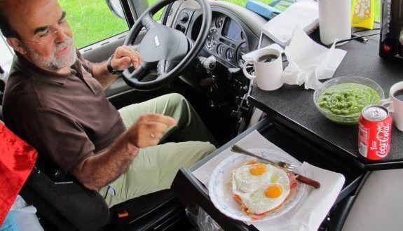Consejos para la buena alimentación de los camioneros