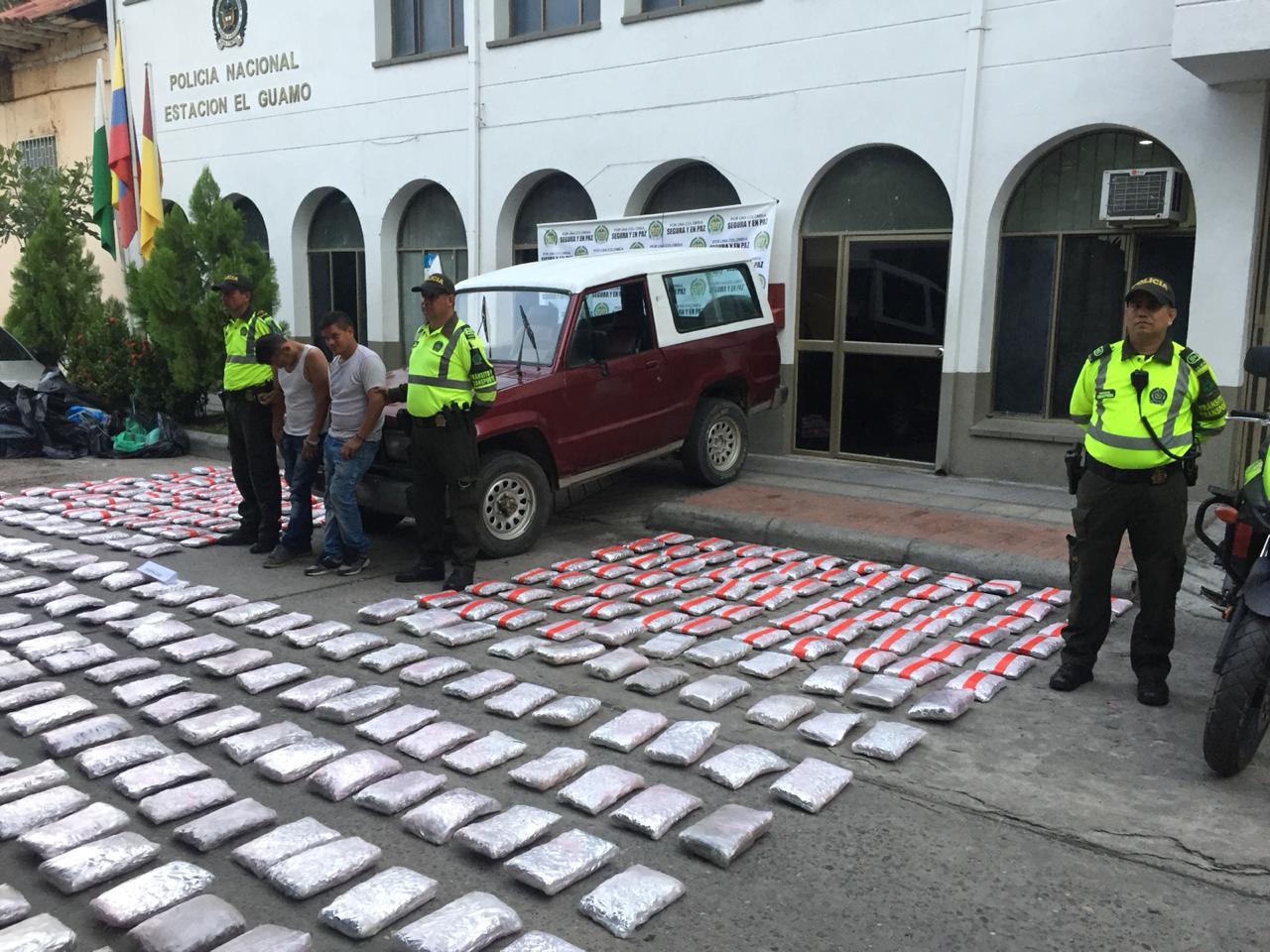 Cayó segundo gran cargamento de yerba en el Tolima en menos de 24 horas