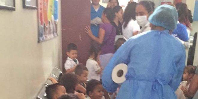 En total, 129 niños resultaron 'intoxitados' en Planadas