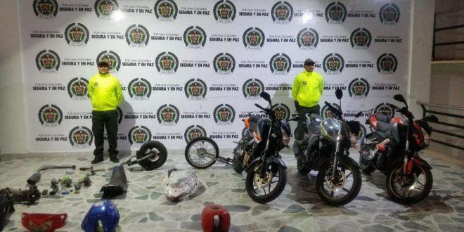 Policía Recuperó Cuatro Motos Y Autopartes En Operativo En 25