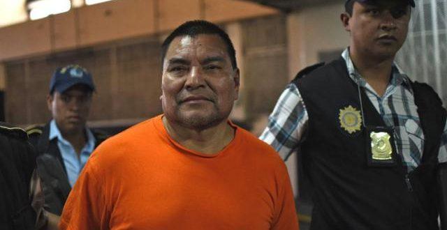Más de 5.000 años de cárcel para un genocida guatemalteco