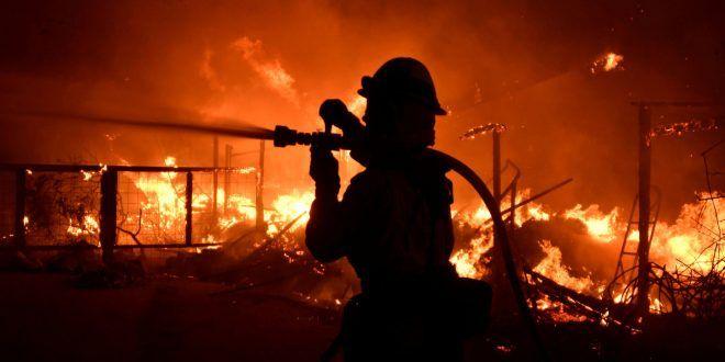 Incendios forestales en California dejan ya 42 muertos