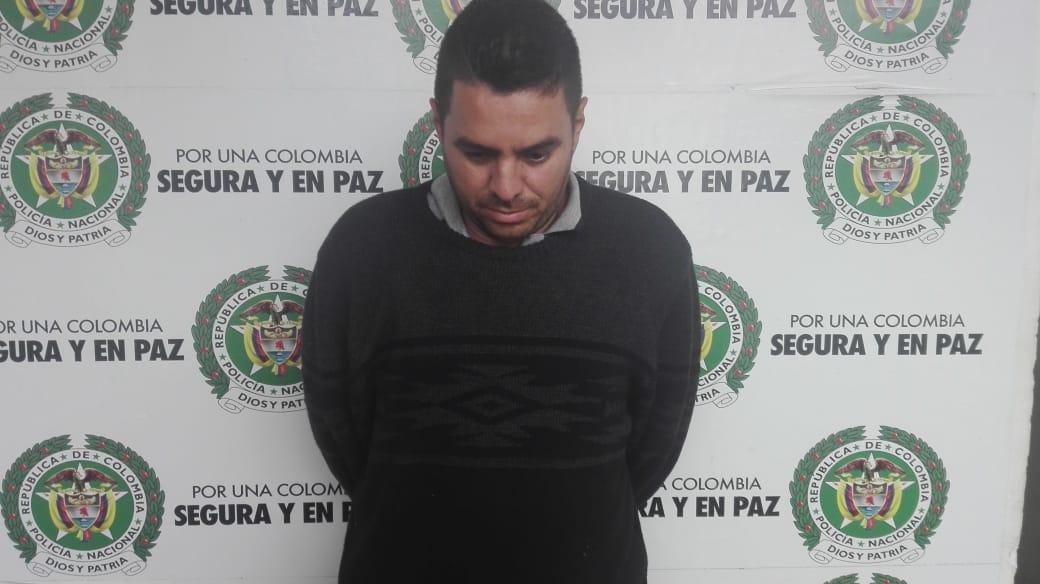 Capturado en la Variante con un 'mercho' de $100 millones robado en Bogotá