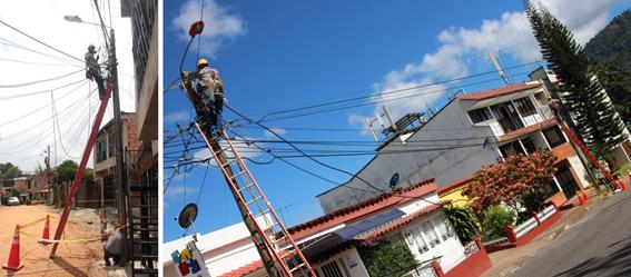 Más de tres mil 960 millones en cambio de redes en 11 municipios del Tolima