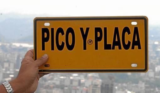 'Pico y placa' seguirá vigente en diciembre