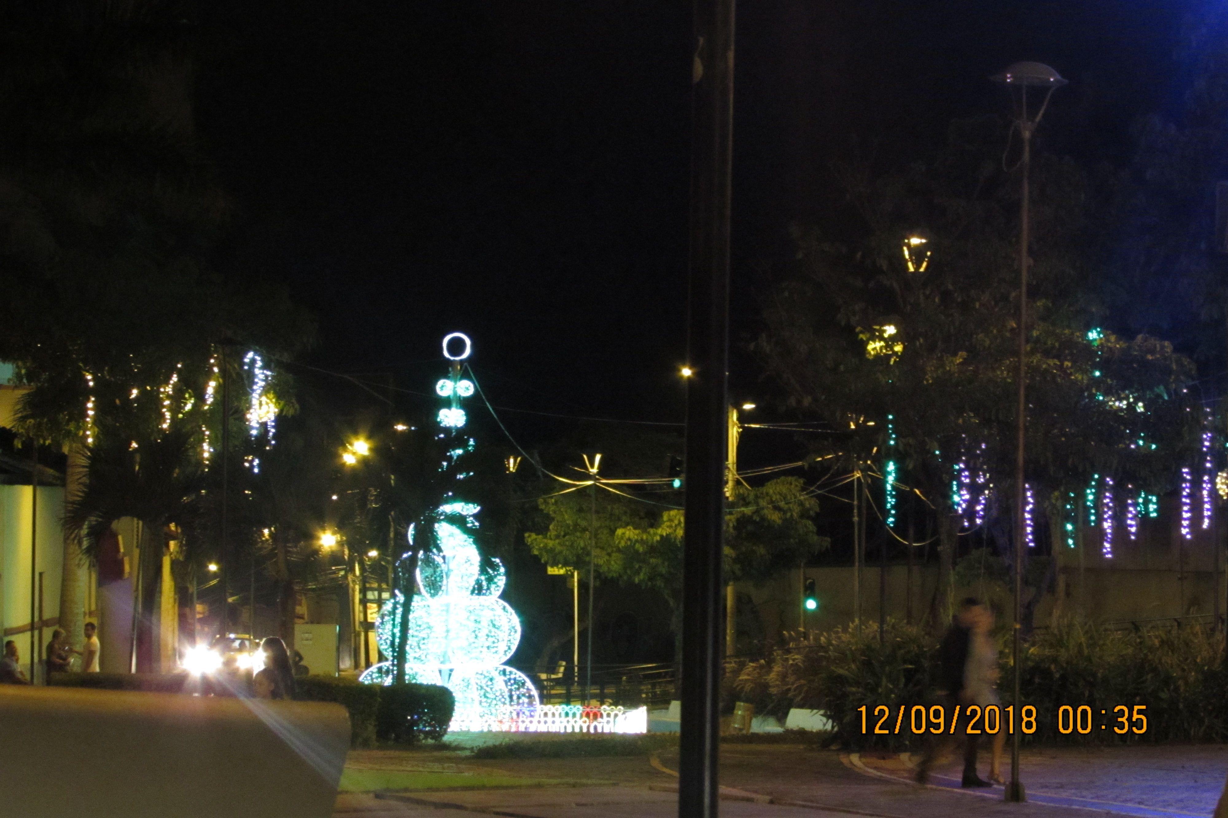 Recorrido por el alumbrado navideño en las principales vías y sitios de Ibagué