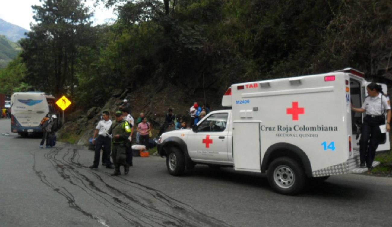 Accidentalidad en la vía a La Línea preocupa a las autoridades