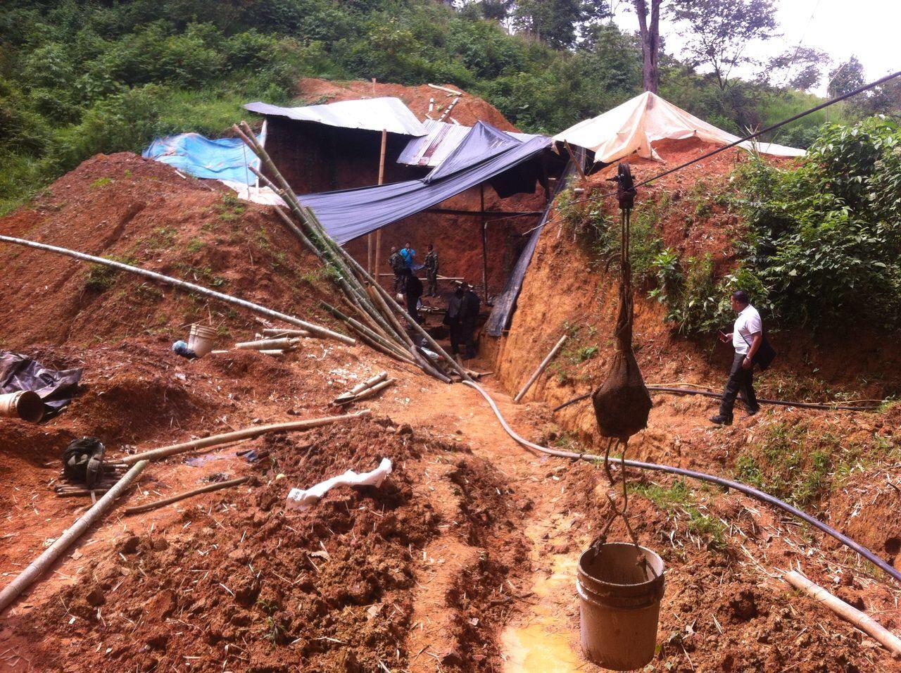 Cortolima y autoridades dieron otro certero golpe contra la minería ilegal en el Líbano