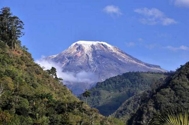 Coordinan operativo de rescate de montañistas alemanes en el Nevado del Tolima