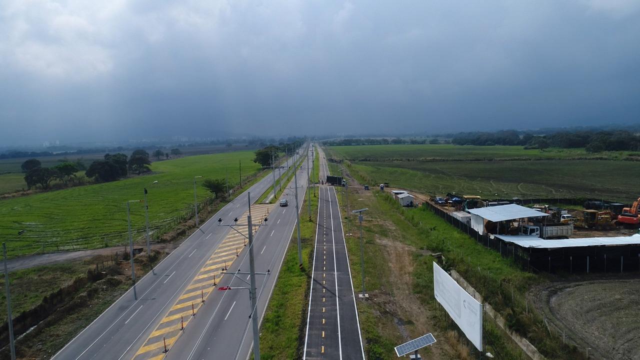 Firman convenio para instalar cámaras de seguridad en sector de la vía al Aeropuerto