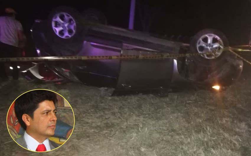 En accidente fallecen la hija y nuera del ex concejal y ex secretario de gobierno de Ibagué, William Castro