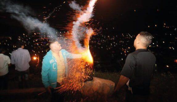 Ya son 124 los niños quemados por pólvora en el País en este diciembre