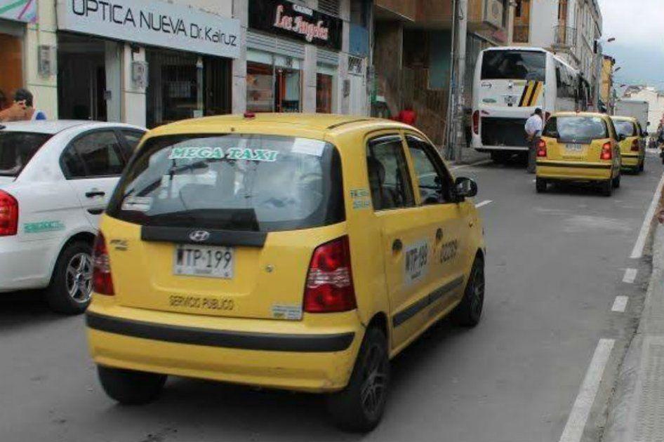 Definida nueva tarifa para la carrera mínima de taxis en Ibagué en el 2019