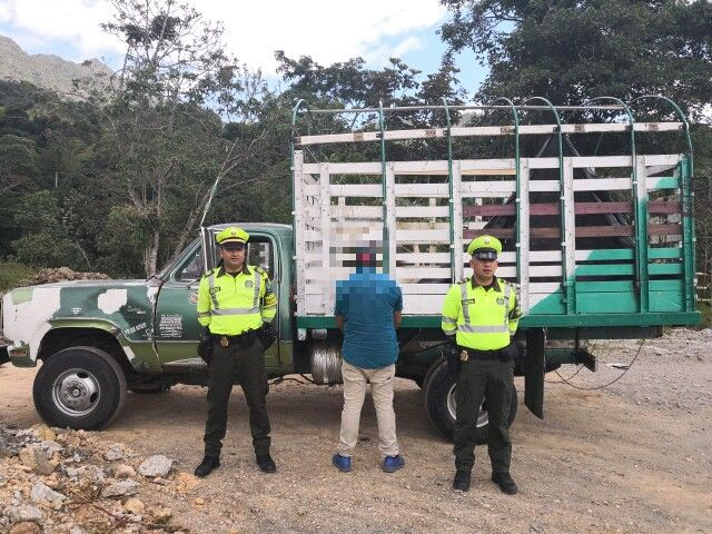 Policía del Tolima recuperó cuatro semovientes robados en finca de Armero Guayabal