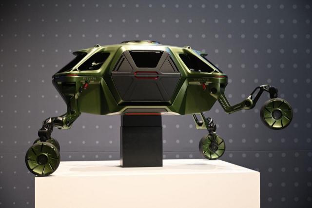 'Elevate', el auto todo terreno de Hyundai con piernas robóticas