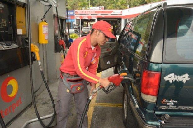 Precio de la gasolina seguirá estable en la mayor parte del País