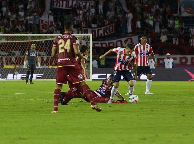 Junior recibe al Tolima en el partido de ida de la final de la Superliga
