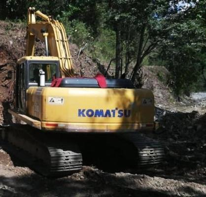Maquinaria de la Gobernación que apoyaba labores entre Rovira y Roncesvalles debe ser reparada