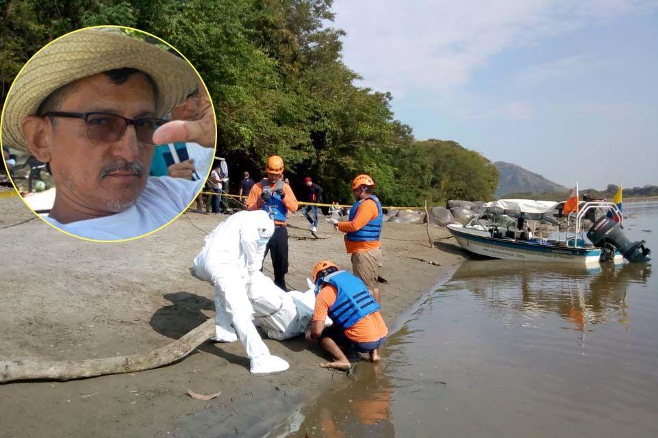 Hallaron el cuerpo del 'profe' Lozano en el río Magdalena