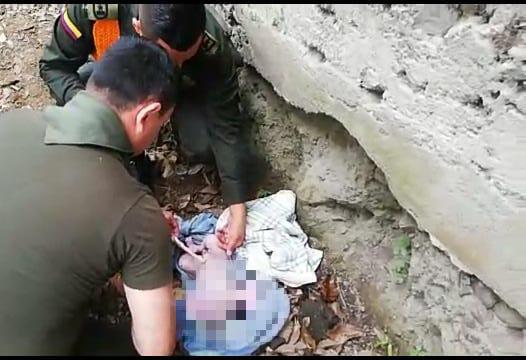 Falleció la bebé abandonada en lote de Playarrica que fue rescatada por policías