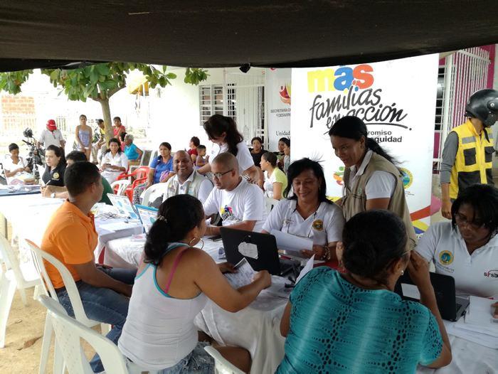 Inicia en Ibagué pago de 'Familias en Acción' para hogares bancarizados