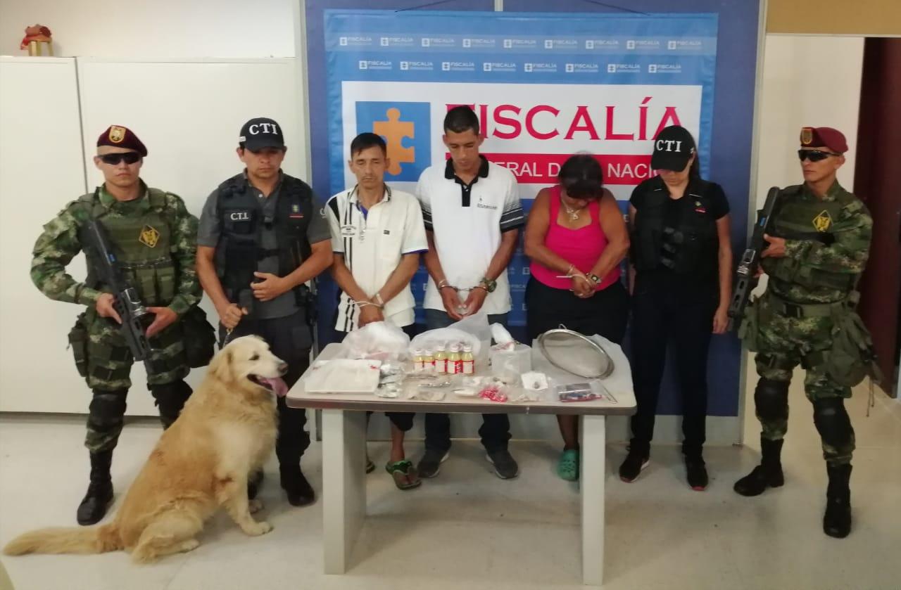 Capturaron a tres integrantes de la banda delincuencial Las Águilas en el barrio Eduardo Santos
