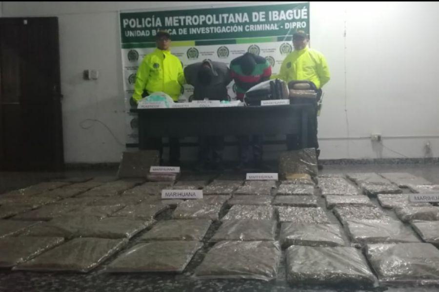 Cayeron con 40 kilos de marihuana en una casa del barrio Arkalá