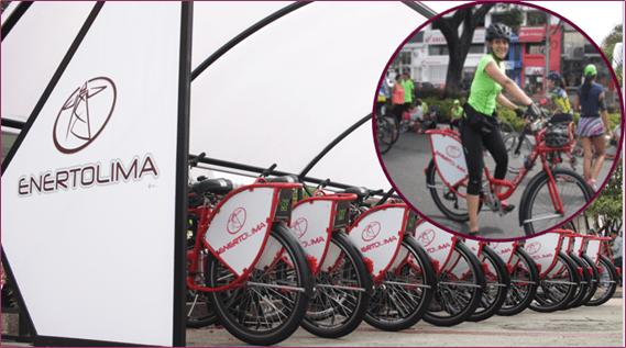 Más de seis mil viajes se registraron en las bicis de Enertolima durante el 2018