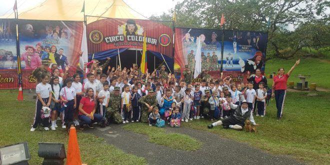 Llegó el 'Circo Colombia' a Ibagué