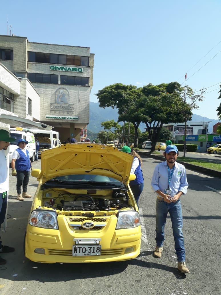 Controles de Cortolima en la jornada del Día sin Carro y sin Moto en Ibagué