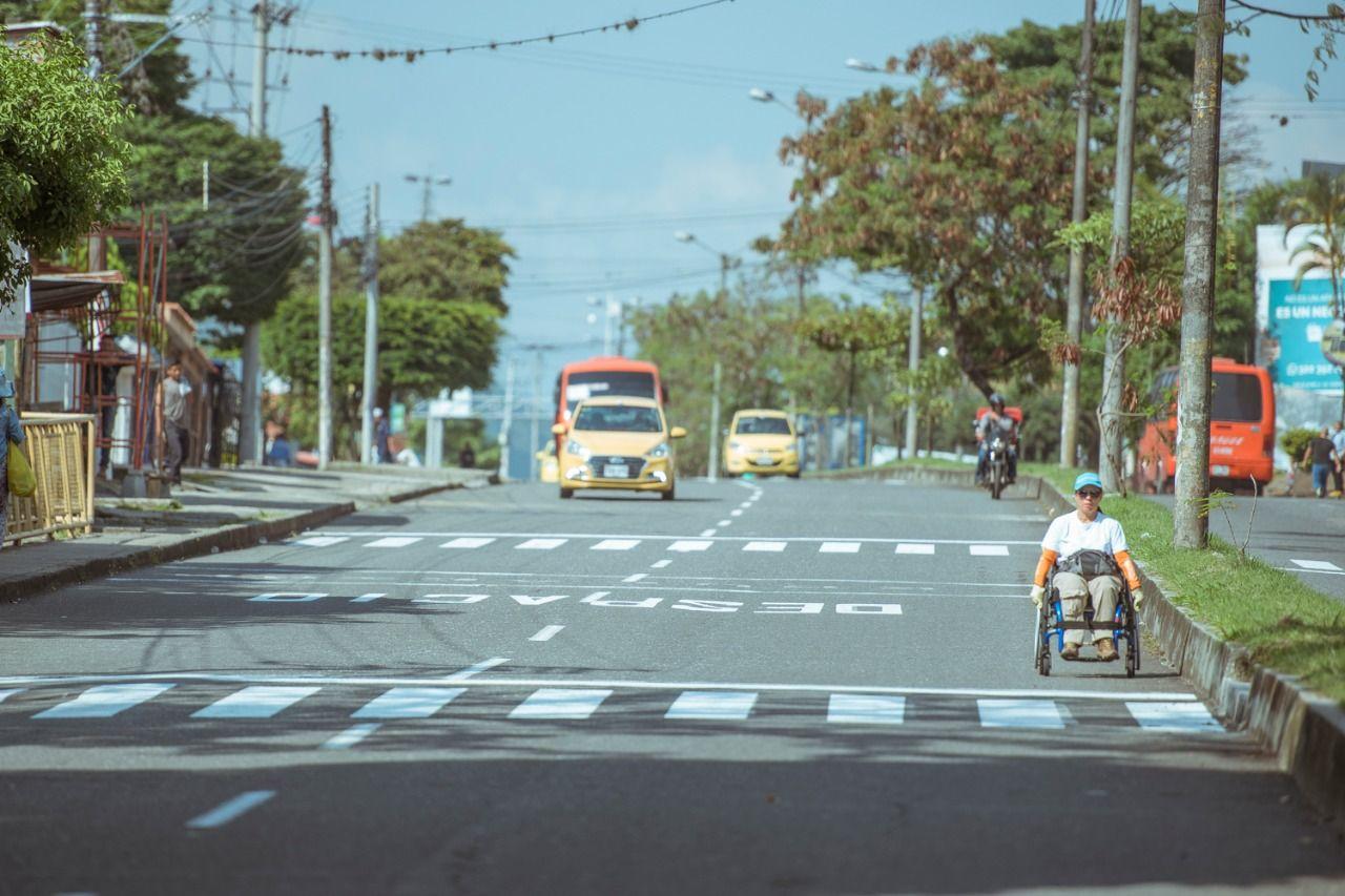 191.000 vehículos dejaron de circular durante el día sin carros y sin motos en Ibagué