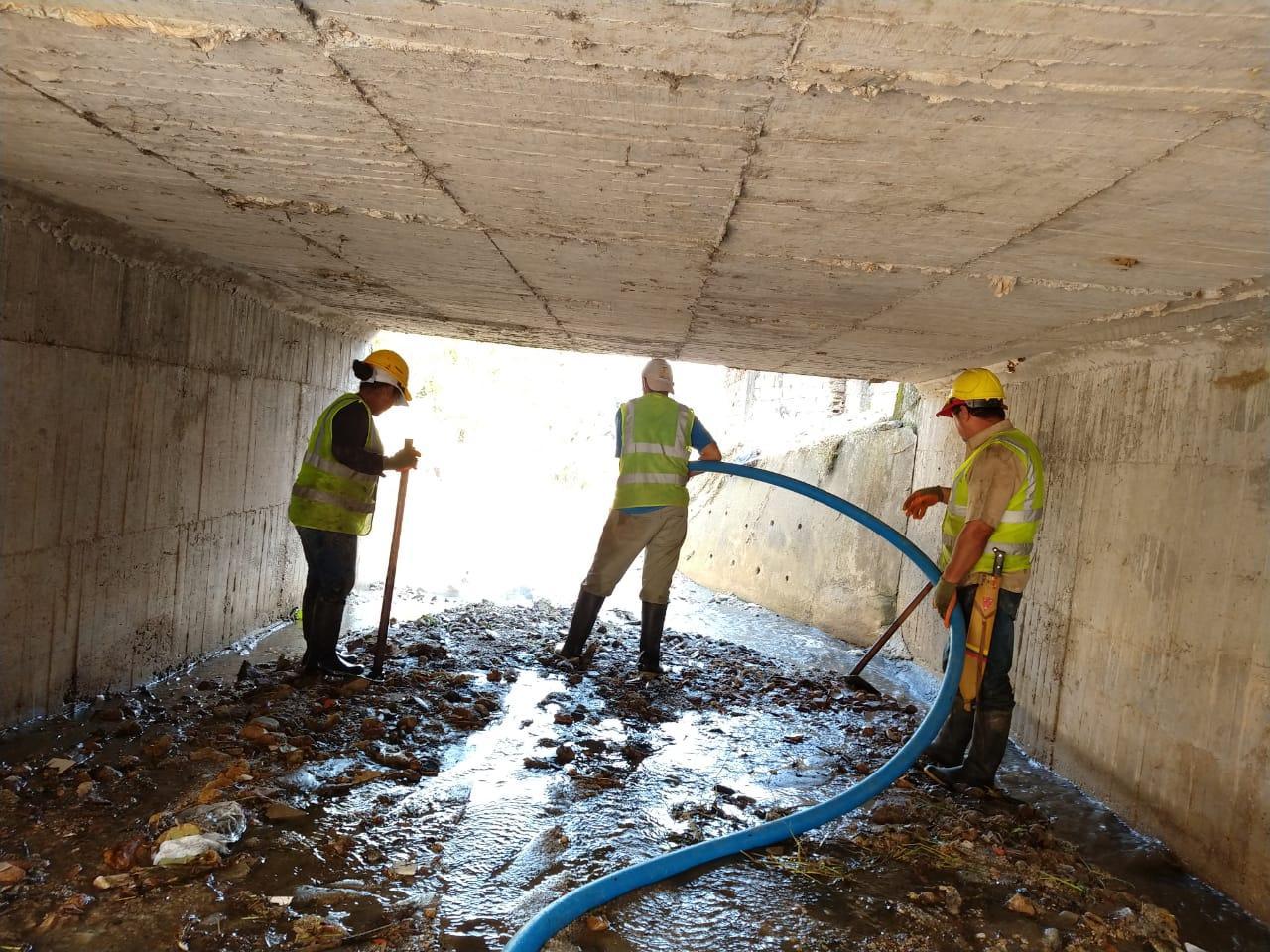 Avanza el mantenimiento de las obras de los Cerros del Norte