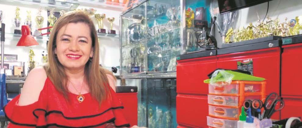 Virna, la' guerrera' de las Premiaciones Especiales del Tolima