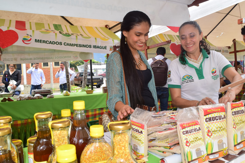 Mercados Campesinos Ibagué tendrá punto fijo en San Bernardo