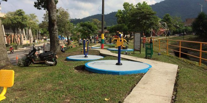 $418 millones se invirtieron en parques y embellecimiento de zonas aledañas al Estadio